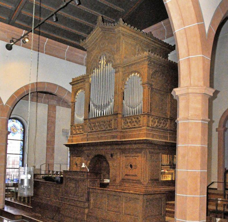 Schäfer-Orgel Ihringen