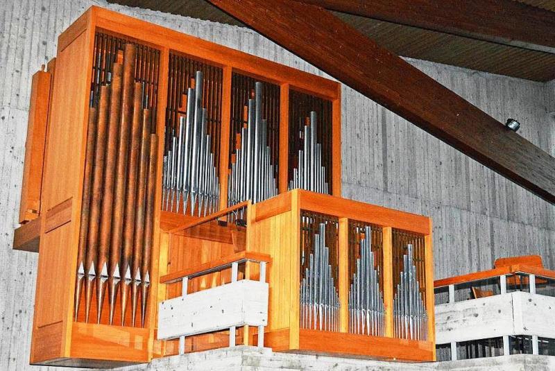 Orgel Heiliggeistkirche Kirchzarten Kirsten Galm
