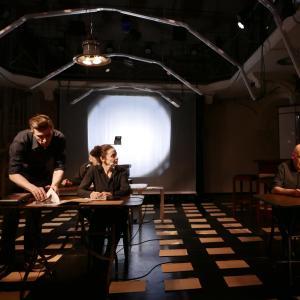 (c) Theater im Marienbad - Ich glaube an unsere Kinder: D. Knapp, D. Mohr & H. Spagl // Foto: D. Kohn, Theater im Marienbad, 2018