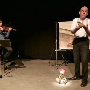(c) Theater im Marienbad - Hat Opa einen Anzug an: D. Frankenberg & C. Müller // Foto: D. Kohn, Theater im Marienbad, 2018