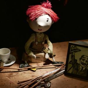 (c) Theater im Marienbad - Hat Opa einen Anzug an: Puppe Bruno // Foto: D. Kohn, Theater im Marienbad, 2018