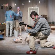 Theater im Marienbad: Die besten Beerdigungen der Welt // C. Müller, L. Bräuniger & B. Finckh // (c) MINZ&KUNST Photography