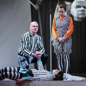 (c) Theater im Marienbad: Michael Kohlhaas // L. Bräuniger, D. Mohr & C. Müller // Foto: MINZ&KUNST Photography