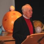 Dr. Sigmund Jähn bei seinem Vortrag
