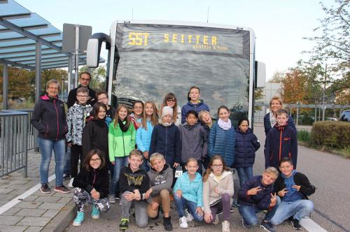 Bustraining Klasse 5a
