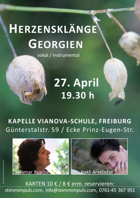 Herzensklänge Georgien, Konzert 27.4.2017