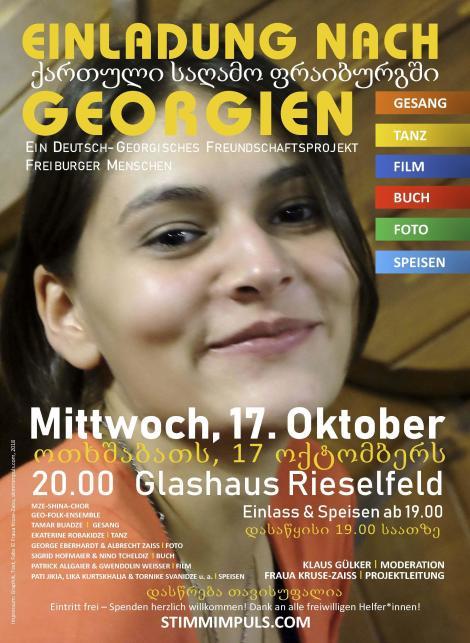 Georgischer Abend, 17.10.2018 Freiburg