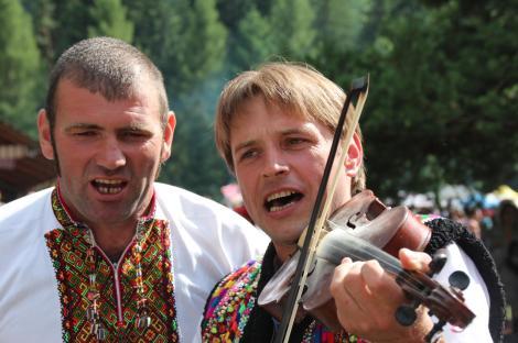 Singreise Ukraine 2013_Karpaten