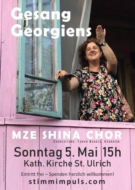 Georgisches Konzert 5.5.2019