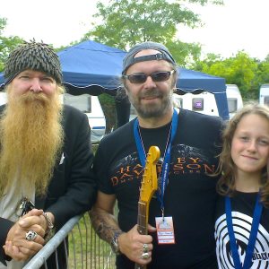 Billy Gibbons und Adrian Dehn