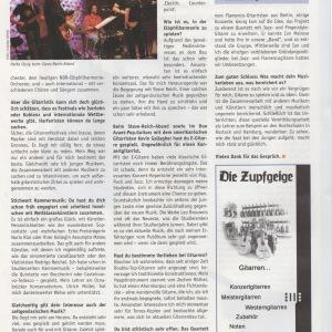 Interview AKUSTIK Gitarre II
