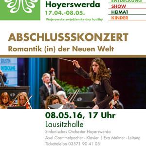 Konzert mit dem Sinfonischen Orchester Hoyerswerda 2016