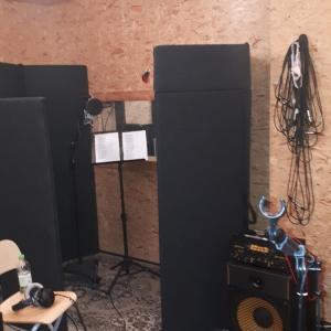 das ist der Aufnahmeraum von Peter's Studio...