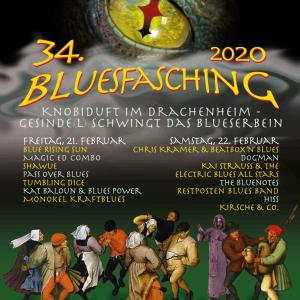 Plakat by Bluesfasching Apolda