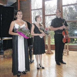 Lieben Sie Brahms...?  Konzert in Offenburg mit Anna Anstett (Prystromska)- Klavier und Dominique Anstett- Viola Oktober 2013