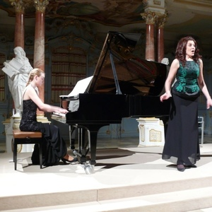 Konzert in Bibliotheksaal Bad Schussenried mit