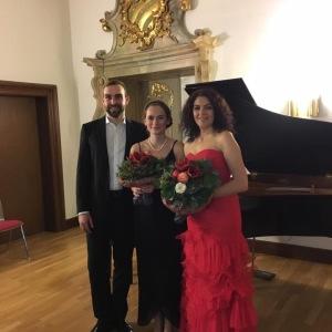 Konzert am 9.12.2017 mit Anna Anstett und Modestas Sidlevecius