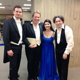 With Maestro Gustavo Dudamel, Susana Gaspar and Robert Murray