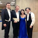 Mit Maestro Gustavo Dudamel, Susana Gaspar und Robert Murray
