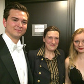 With Sarah Connolly and Lucy Crowe