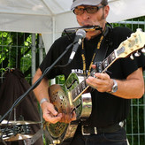 with the ´blueswalkers´ at ´blues in lehrte´- festival (2009)