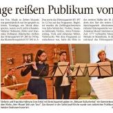 Kammerkonzert, Rehauer Kulturherbst 2019