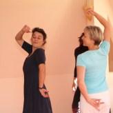 Stolz und selbstbewußt tanzen