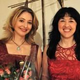 mit Pianistin Tatiana Kiourou