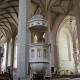 Kanzel im evangelischen Teil des Doms