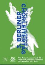 Flyer Berliner Chorleiter-Tag
