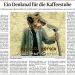Thüringer Allgemeine & Landeszeitung über die CD...