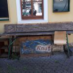 2019...Schlagzeugkiste von Knuff aus dem Jahre 1987...steht in Weimar auf der Straße...zu verschenken...
