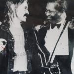 1993...B.B.KIng & Jürgen Kerth in der Weimarhalle in Weimar