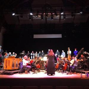 L'Arpeggiata rehearsal in Gent