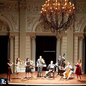 with NDA at Concertgebouw Amsterdam