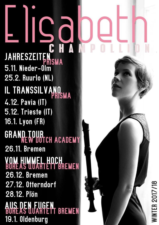 Winter concerts 17/18