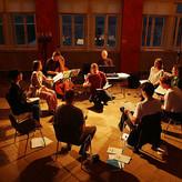 bei der Probenarbeit mit Trinity-Baroque, Foto: S.Schweiger