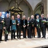 Bachmottetten mit Trinity-Baroque beim Silbermann-Festival in Freiberg; Foto: C.Weber