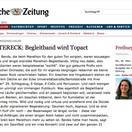 BZ Kritik des Gigs beim Freiburg Marathon 2015