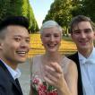 Mit Pianist David Fung und Dirigent Erich Polz, Orchesterkonzert Herrenhausen 2018