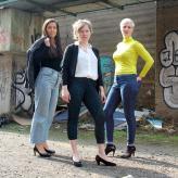 Trio Was dann? Fotografin: Jelena Staubach Köln 2021