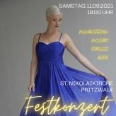 Festkonzert Orgel + Sopran Pritzwalk