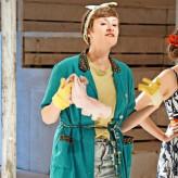 """Sophia Körber als Bauernmädchen in """"Don Quichotte"""" Dorf macht Oper Klein Leppin 2016, Foto: Andreas König"""