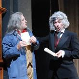 """als Spalanzani (links) in """"Hoffmanns Erzählungen"""" bei der Sommeroper Selzach 2012"""
