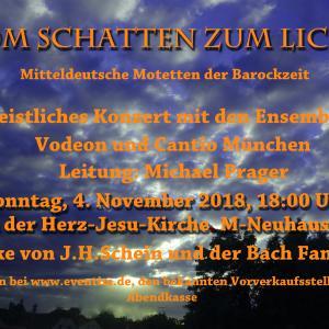Motettenkonzert 4. November 18