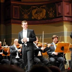 Mozartgala in der Stadthalle Heidelberg mit der Württembergischen Philharmonie Reutlingen, Dirigent: Ola Rudner