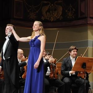 Mozartgala in der Stadthalle Heidelberg mit Amelie Petrich(Sopran) der Württembergischen Philharmonie Reutlingen, Dirigent: Ola Rudner