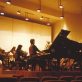 Prova con l'Orchestra Sinfonica dei Sudeti