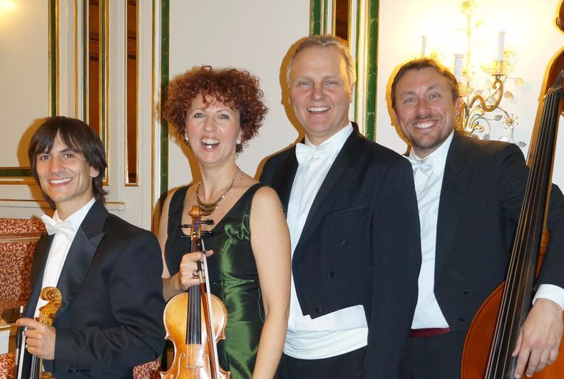 Markus Lechner im Franz Lehar Quartett Bad Krozingen