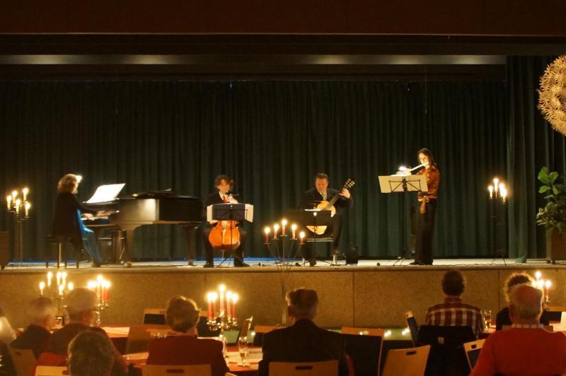 """Ensemble """"Mare de la Musica"""" im Kursaal in Horumersiel"""